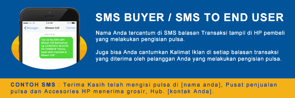 SMS Buyer Pulsa